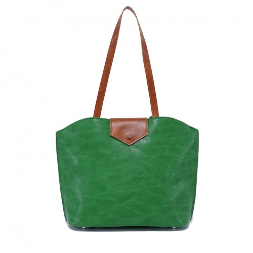 Bella Tote - Lime Green