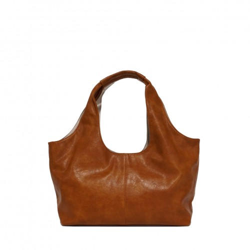 Taylor 2-Tone Tote Camel