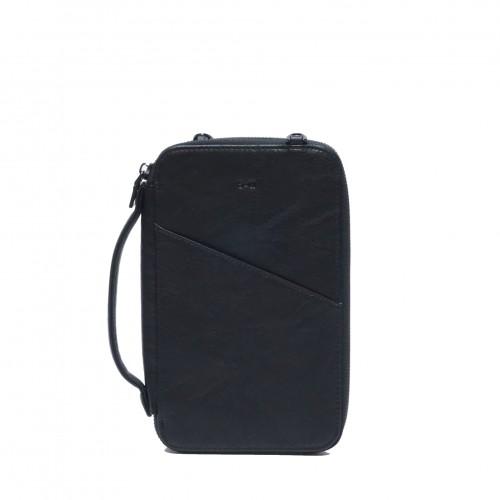 Athena Passport Pouch Black