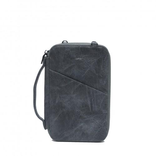 Athena Passport Pouch Dark Grey