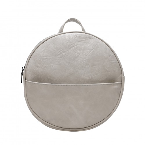 Jessa Round Convertible Backpack Antique White