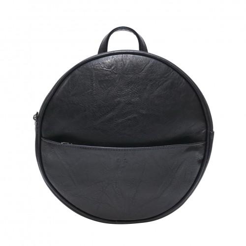 Jessa Round Convertible Backpack Black