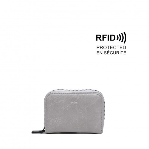 Iva Card Case Grey