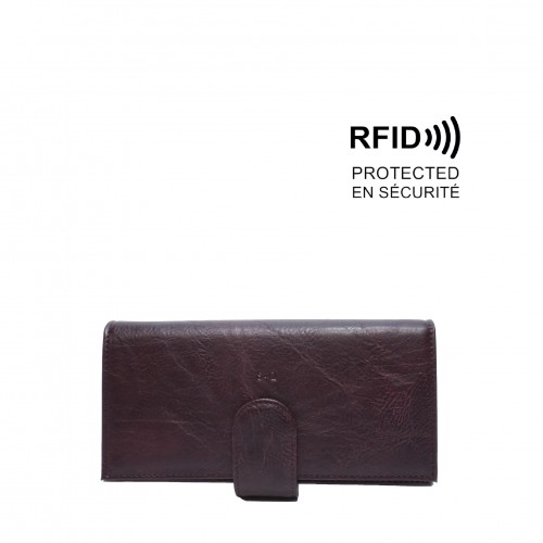 Queenie Crossbody Wallet - Purple