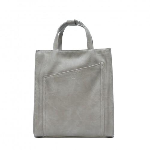 Cali Convertible Tote - Stone Grey