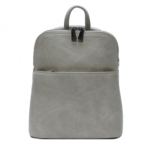 Maggie Convertible Backpack - Stone Grey
