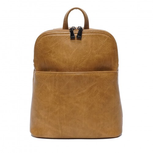 Maggie Convertible Backpack - Tan
