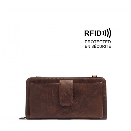 Dona Smartphone Wallet - Mocha