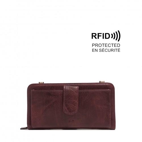 Dona Smartphone Wallet - Purple