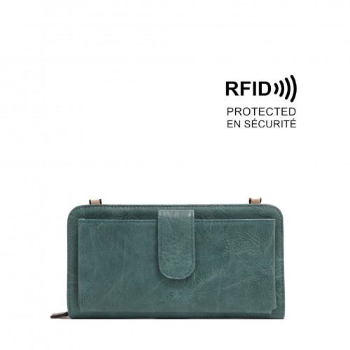 Dona Smartphone Wallet - Teal